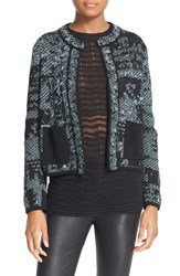 M Missoni Women's Metallic Tweed Jacket