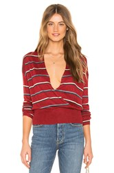 Heartloom Everly Sweater Red