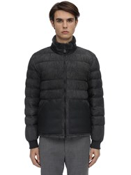 Z Zegna Suede And Shearling Leather Jacket Grey
