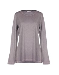 Jaggy T Shirts Grey