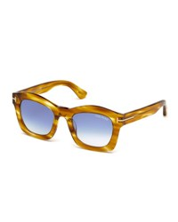Tom Ford Greta Square Sunglasses Honey
