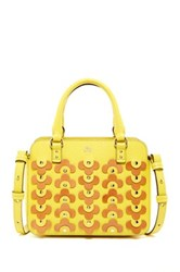 Orla Kiely Jeanette Leather Bag Yellow