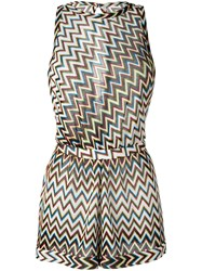 Missoni Zig Zag Beach Dress