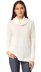 Cupcakes And Cashmere Dexter Cowl Neck Sweater Ivory