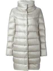 Herno Padded Coat Nude And Neutrals