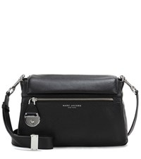 Marc Jacobs The Standard Leather Shoulder Bag Black
