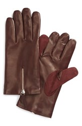Men's Want Les Essentiels De La Vie 'Mozart' Lambskin Gloves Old Burgundy