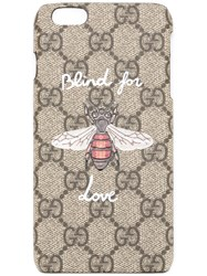 Gucci Blind For Love Iphone 6 7 Case Brown