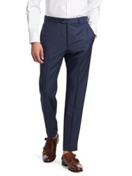 Emporio Armani Wool Pants Blue