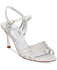 Adrianna Papell Vonia Evening Sandals Women's Shoes Silver