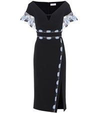 Peter Pilotto Off The Shoulder Dress Black
