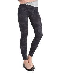Spanx Seamless Camouflage Leggings Black Camo