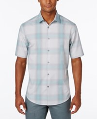 Alfani Men's Classic Fit Plaid Shirt Only At Macy's Meadowbrook