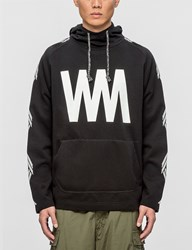 White Mountaineering Wm Printed Fleece Lining Hoodie
