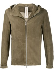 Giorgio Brato Fitted Hooded Jacket 60