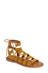 Frye Women's Blair Ghillie Sandal Yellow