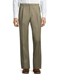 Neiman Marcus Manchester Easy Pleated Pants Black