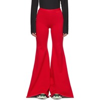 Vetements Red Evening Jogging Lounge Pants