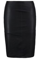 Only Onlcelina Pencil Skirt Black