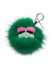 Fendi Dad Bag Charm Green