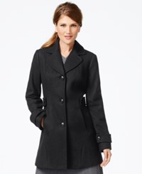 Inc International Concepts Button Front Peacoat Only At Macy's Charcoal