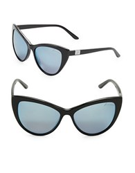 Brian Atwood 56Mm Cats Eye Sunglasses Black