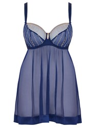 Curvy Kate Belle Babydoll Blue