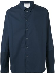 Stephan Schneider Classic Shirt Men Cotton M Blue
