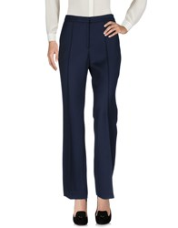 Lala Berlin Casual Pants Dark Blue