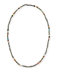 Hipchik Caryn Long Beaded Necklace 43 Multi
