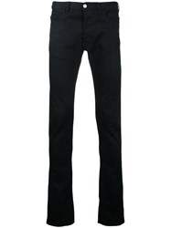 Ex Infinitas Classic Ultra Slim Denim Jeans Cotton Black