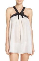 Kate Spade Women's New York Babydoll Chemise And Panty