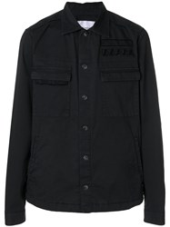 Dondup Classic Fitted Jacket Black