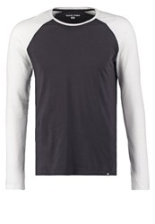 Your Turn Long Sleeved Top Black White