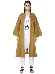 Nehera Oversized Cotton Blend Trench Coat