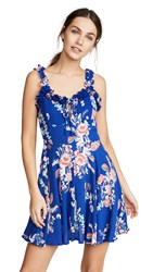 Cleobella Pippa Dress Blue Gardenia