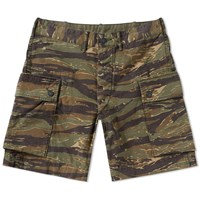 Rrl Regiment Cargo Short Green