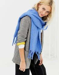 New Look Blue Scarf Light Blue