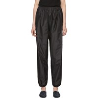 The Row Black Dez Trousers
