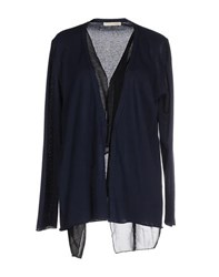Nioi Knitwear Cardigans Women Dark Blue