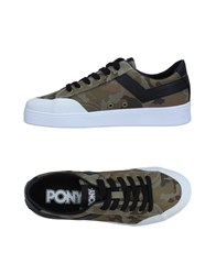 Pony Sneakers Military Green