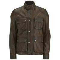 Belstaff Men's Burgess Leather Jacket Acid Brown