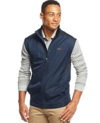 Greg Norman For Tasso Elba Micro Dobby Wind Vest Only At Macy's