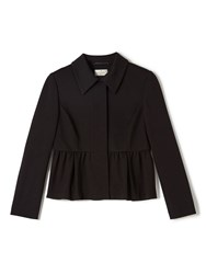 Precis Petite Jeff Banks Black Peplum Jacket