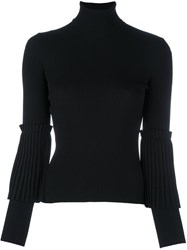 Salvatore Ferragamo Turtleneck Jumper Black