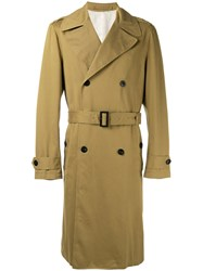 Joseph Belted Trench Coat Nude Neutrals