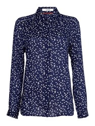 Dickins And Jones Lucie Relaxed Shirt Navy