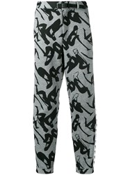 P.A.M. Perks And Mini Pam Logo Track Pants Grey