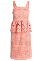 Mintandberry Summer Dress Coral Almond