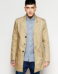 Only And Sons Overcoat Stone